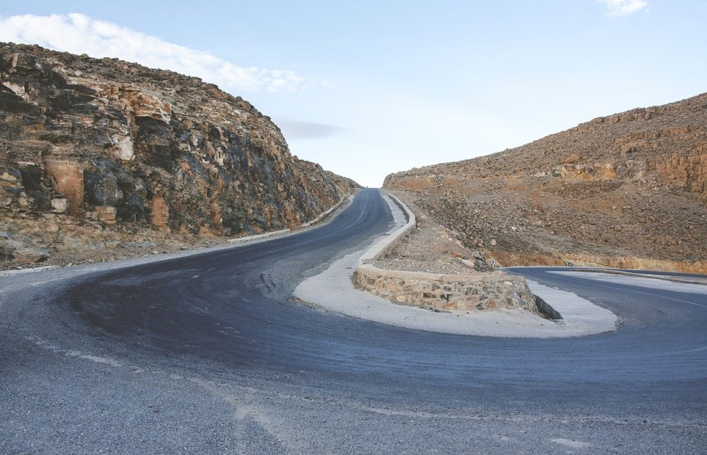 roadway desert